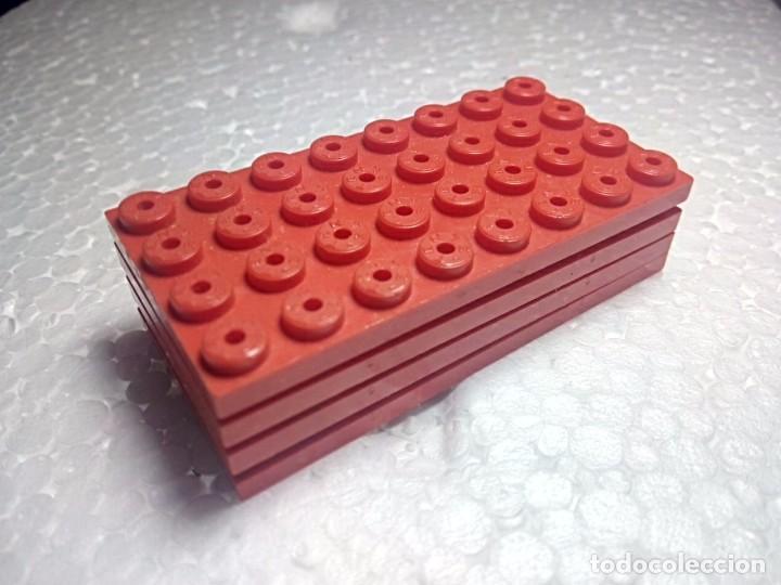 ROJO PLACA 8X4 - TENTE (4 UNIDADES) (Juguetes - Construcción - Tente)