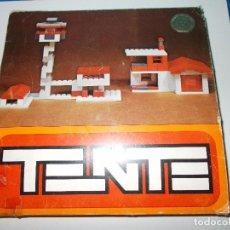 Juegos construcción - Tente: TENTE CASAS EXIN 1974 UNICO EN TODOCOLECCION. Lote 99466035