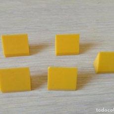 Juegos construcción - Tente: TENTE CUÑA 1X2H LISA X5 PIEZAS. Lote 140420501