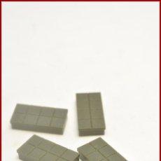 Juegos construcción - Tente: TENTE - 1X2H 2 X 1 X 0 CUADRICULADA PISTA CAQUI SCORPION X4. Lote 100690659