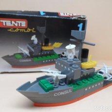 Juegos construcción - Tente: TENTE EXIN - BARCO PATRULLERO CONSUL. Lote 101004395