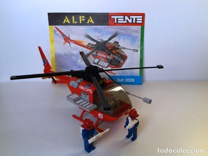 Juegos construcción - Tente: TENTE HELICOPTERO ALFA DE BOMBEROS - Foto 2 - 101344515