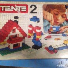 Juegos construcción - Tente: ANTIGUO JUEGO DE CONTRUCCION EN CAJA TENTE 2. Lote 101476751