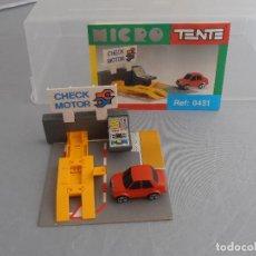 Juegos construcción - Tente: TALLER MICRO TENTE, REF. 0431, INSTRUCCIONES ORIGINALES, EXIN. Lote 103432803