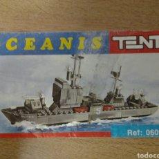 Juegos construcción - Tente: TENTE OCEANIS: INSTRUCCIONES MONTAJE NAUTILUS. Lote 103451444