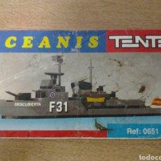Juegos construcción - Tente: TENTE OCEANIS: INSTRUCCIONES MONTAJE DESCUBIERTA. Lote 103451734