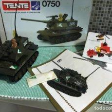 Juegos construcción - Tente: TENTE TANQUE REF. 0750 COMPLETO. Lote 104312255