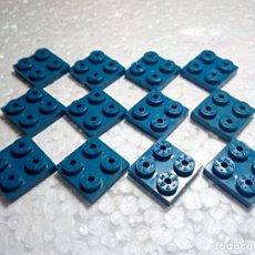 Jogos construção - Tente: AZUL PLACA 2X2 - TENTE (12 UNIDADES). Lote 190294958
