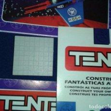 Juegos construcción - Tente: TENTE 4X4X0 CUADRICULADA GRIS CLARO. Lote 105091303