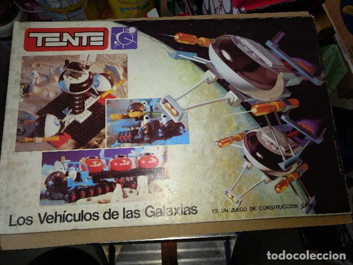 Juegos construcción - Tente: TENTE ORIGINAL LOS VEHICULOS DE LAS GALAXIAS SUPER CAJA EXIN AÑOS 70 - Foto 3 - 105212051