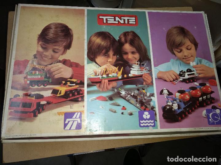 Juegos construcción - Tente: TENTE ORIGINAL LOS VEHICULOS DE LAS GALAXIAS SUPER CAJA EXIN AÑOS 70 - Foto 4 - 105212051