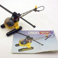 Juegos construcción - Tente: TENTE - REF 0500 - HELICOPTEROR - COMPLETO CON INSTRUCCIONES ORIGINALES . Lote 105469991