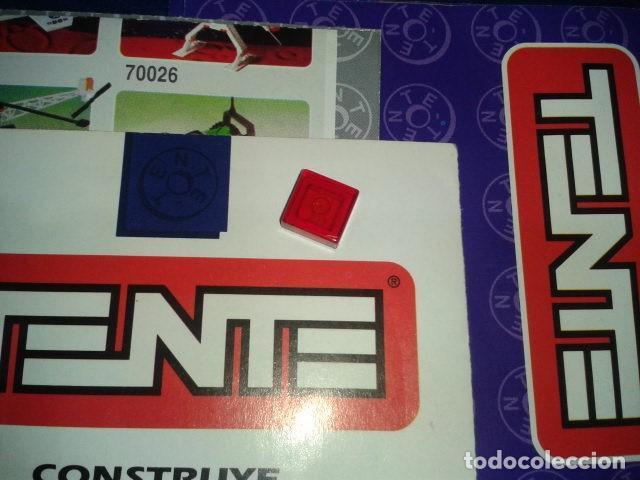 TENTE ROJO TRANSPARENTE 1X1 (Juguetes - Construcción - Tente)