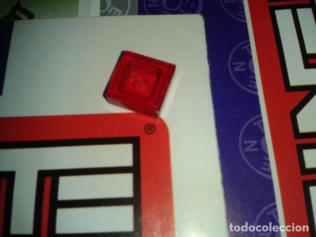Juegos construcción - Tente: TENTE ROJO TRANSPARENTE 1x1 - Foto 2 - 105991303