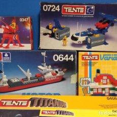 Juegos construcción - Tente: GENIAL LOTE TENTE TITANIUM, NAVAL, ETC.... Lote 106040659