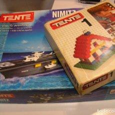 Juegos construcción - Tente: TENTE LOTE JUEGOS TENTE TENTE UNO Y TENTE PORTAVIONES NIMITZ EXIN AÑOS 90. Lote 106891675