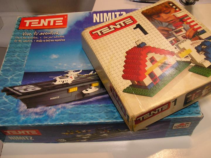 Juegos construcción - Tente: tente lote juegos tente tente uno y TENTE PORTAVIONES NIMITZ EXIN AÑOS 90 - Foto 4 - 245526215