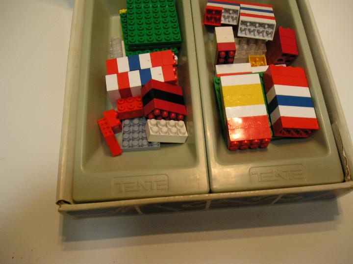 Juegos construcción - Tente: tente lote juegos tente tente uno y TENTE PORTAVIONES NIMITZ EXIN AÑOS 90 - Foto 21 - 245526215