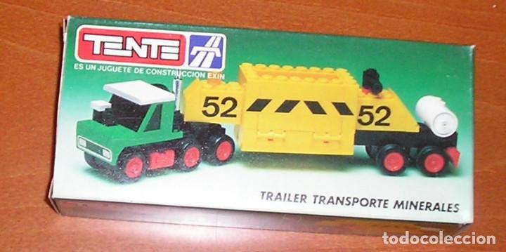 TENTE TRAILER TRANSPORTE MINERALES REF. 0685 (Juguetes - Construcción - Tente)