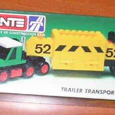 Juegos construcción - Tente: TENTE TRAILER TRANSPORTE MINERALES REF. 0685. Lote 107344155