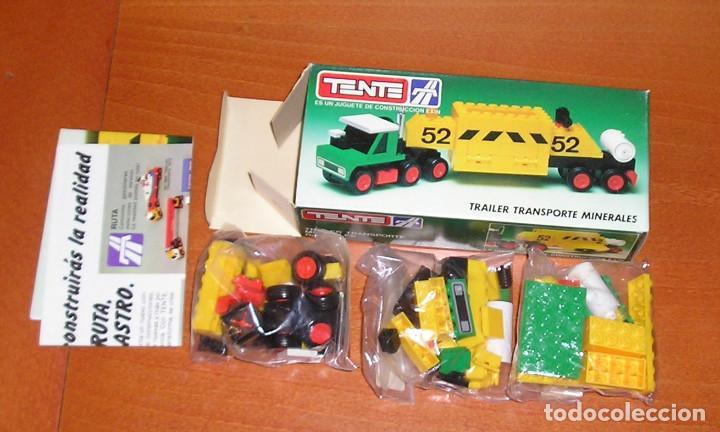 Juegos construcción - Tente: Tente Trailer Transporte Minerales Ref. 0685 - Foto 2 - 107344155