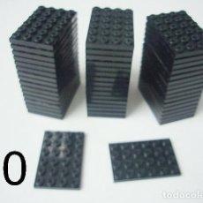 Juegos construcción - Tente: G.L. TENTE PLACA 4X6. COLOR NEGRO. Lote 124181534