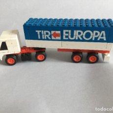Juegos construcción - Tente: TENTE RUTA TRAILER EUROPA TIR. Lote 109067571