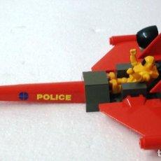 Juegos construcción - Tente: TENTE COSMIC NAVE POLICE .SOLO MAQUETA DE ADORNO. LAS PIEZAS ESTÁ PEGADAS. ¡NUEVA! ORIGINAL AÑOS 80. Lote 110135747