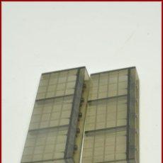 Juegos construcción - Tente: TENTE - PANEL VALLA BARRERA CIERRE TRANSPARENTE AHUMADO X2. Lote 110461839