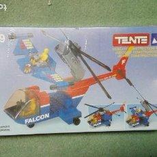 Juegos construcción - Tente: TENTE EXIN SERIE AIRE REF 509 HELICÓPTERO FALCON, NUEVO PRECINTADO. Lote 111689439