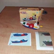 Juegos construcción - Tente: TENTE EXIN MAR OCEANIS. BUTANERO HERMES. COMBI 1. Nº 4. 0304. COMPLETO EN CAJA. INSTRUCCIONES. Lote 112020923