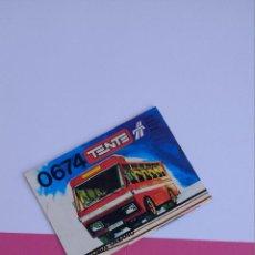 Juegos construcción - Tente: TENTE RUTA REF 0674 AUTOBÚS URBANO INSTRUCCIONES CONSTRUCCIÓN EXIN LINES BROS. Lote 112299971