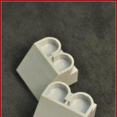 Juegos construcción - Tente: TENTE - 2 X 2 X 1 2X2 CUÑA SENOS GRIS CLARO X2. Lote 112906607