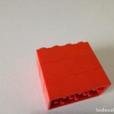 Juegos construcción - Tente: TENTE BLOQUE 4X2 ROJO X3 PIEZAS. Lote 184799523
