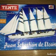 Juegos construcción - Tente: BARCO JUAN SEBASTIAN ELCANO DE TENTE. Lote 114731443