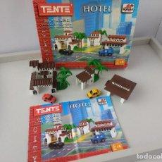 Juegos construcción - Tente: MICRO TENTE REF 70172 HOTEL DE BORRAS. Lote 115318567