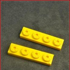 Juegos construcción - Tente: TENTE - 1X4 4 X 1 X 0 AMARILLO X2. Lote 115643523