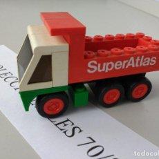 Juegos construcción - Tente: TENTE RUTA CAMIÓN VOLQUETE REF 0672 SUPER ATLAS EXIN MODELO ORIGINAL COMPLETO. Lote 116170823