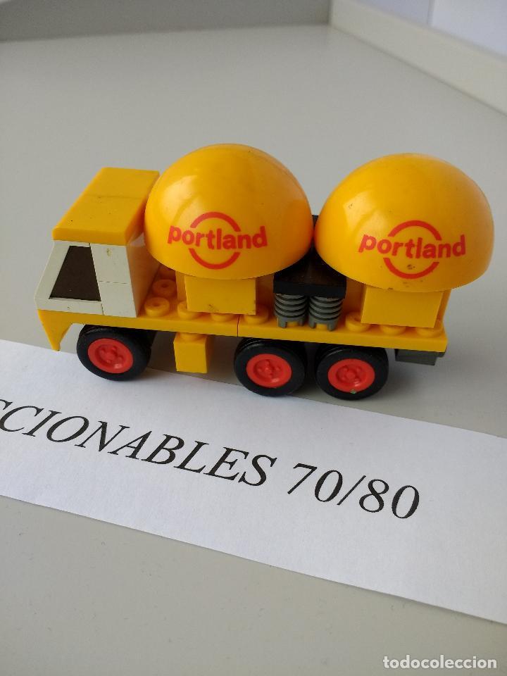 Juegos construcción - Tente: TENTE RUTA CAMIÓN CEMENTO REF 693 EXIN MODELO ORIGINAL COMPLETO - Foto 4 - 116171827
