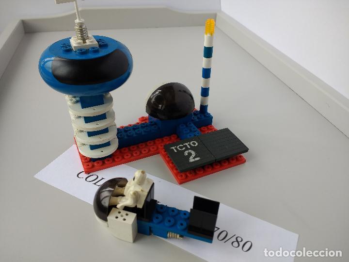 TENTE ASTRO REF 0655 TORRE CONTROL TRAFICO ORBITAL EXIN MODELO ORIGINAL COMPLETO (Juguetes - Construcción - Tente)