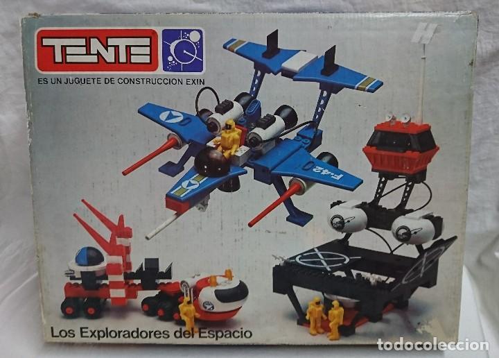 TENTE DE EXIN - TENTE ASTRO MÚLTIPLE REFERENCIA 0542 LOS EXPLORADORES DEL ESPACIO - CON CAJA (Juguetes - Construcción - Tente)