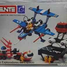Juegos construcción - Tente: TENTE DE EXIN - TENTE ASTRO MÚLTIPLE REFERENCIA 0542 LOS EXPLORADORES DEL ESPACIO - CON CAJA. Lote 116664043