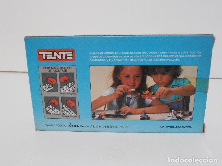 Juegos construcción - Tente: TENTE PESQUERO DE CABOTAJE, EXIN JOCSA REF 0334, COMBI, A ESTRENAR, BOLSAS SIN ABRIR, IND. ARGENTINA - Foto 3 - 117277759