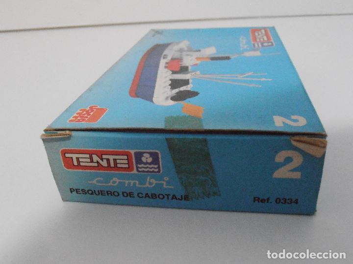 Juegos construcción - Tente: TENTE PESQUERO DE CABOTAJE, EXIN JOCSA REF 0334, COMBI, A ESTRENAR, BOLSAS SIN ABRIR, IND. ARGENTINA - Foto 4 - 117277759
