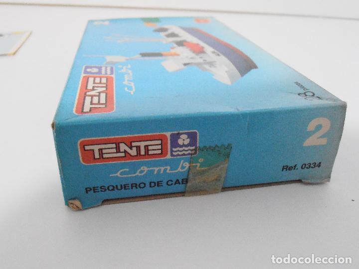 Juegos construcción - Tente: TENTE PESQUERO DE CABOTAJE, EXIN JOCSA REF 0334, COMBI, A ESTRENAR, BOLSAS SIN ABRIR, IND. ARGENTINA - Foto 5 - 117277759