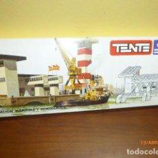 Juegos construcción - Tente: ESTACIÓN MARÍTIMA Y REMOLCADOR TENTE. . Lote 117935807