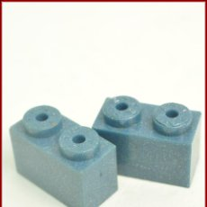 Juegos construcción - Tente: TENTE - 2 X 1 X 1 1X2 AZUL TITANIUM X2. Lote 118351523