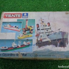 Juegos construcción - Tente: 2 TENTE LOS GIGANTES DEL MAR + TENTE WEST OIL & CO. CON CAJA LOS DOS. Lote 118457943