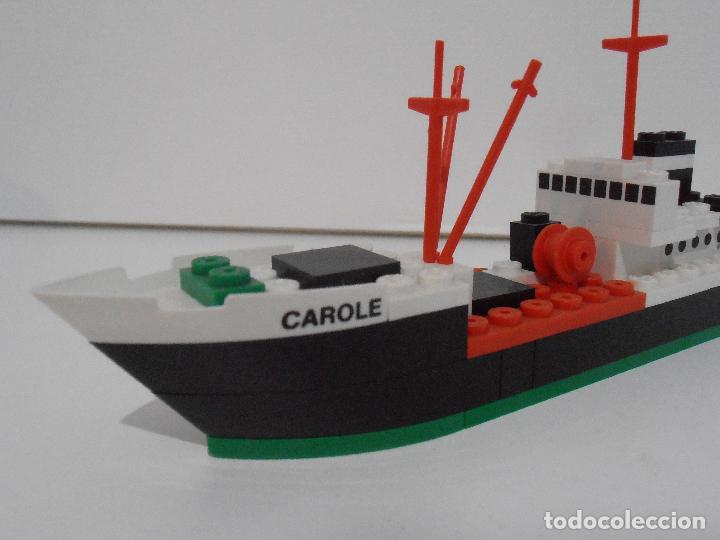 Juegos construcción - Tente: TENTE PESQUERO CAROLE FISHING TRAWLER, EXIN HASBRO REF 302, COMPLETO CAJA INSTRUCCIONES, EEUU - Foto 3 - 119285535