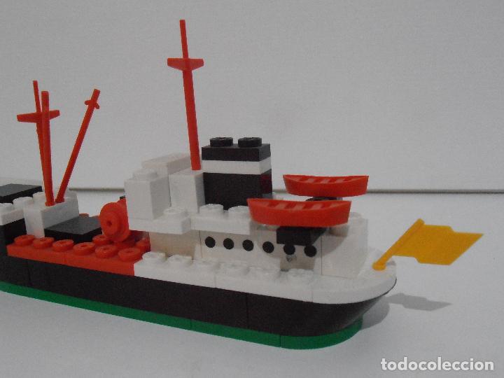 Juegos construcción - Tente: TENTE PESQUERO CAROLE FISHING TRAWLER, EXIN HASBRO REF 302, COMPLETO CAJA INSTRUCCIONES, EEUU - Foto 4 - 119285535
